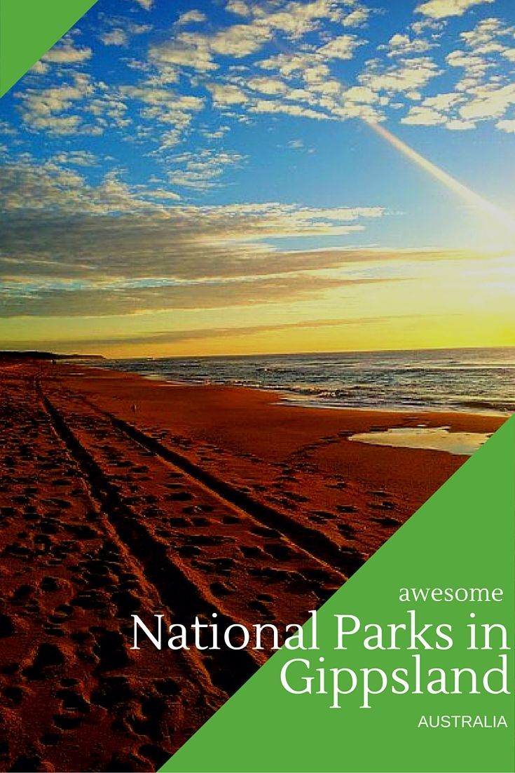 Gippsland is home to over 15 National Parks. Many of these parks are popular with locals, day-trippers and international tourist who hire campervans in Australia for their trips. Here is a selection of some of the best of Gippsland National Parks