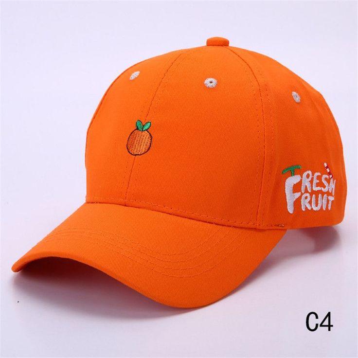 Ladies' Cute Baseball Cap Spring Cotton Caps for Women Casual fruit fish Pattern Hat Fashion Snapback gorras beisbol B063