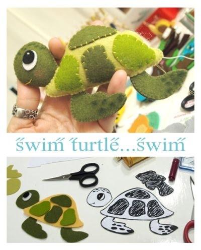 Felt Turtle