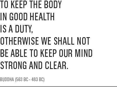 how to have a good health