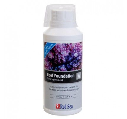 Red Sea Reef Foundation Supplement - A (Ca/Sr) - 500 ml