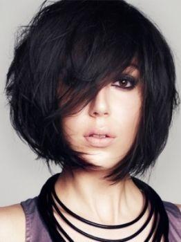 Para as que gostam de cabelo curtinho e moderno (: