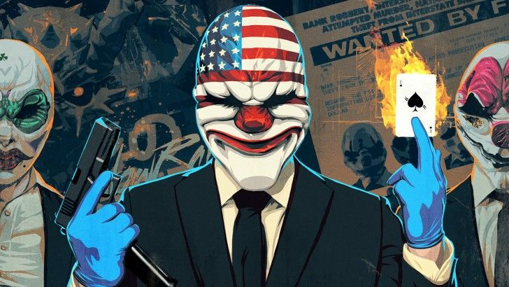 Download Payday 2 Clover Dallas Houston Game Art 2880x1800