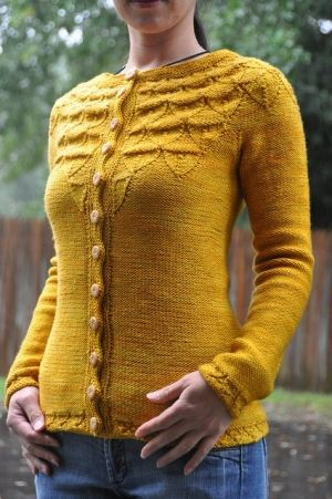 Mustard yellow sweater, love it with grey or navy...@Sarah Chintomby Preslar , your mom can make this for me if she wants :)