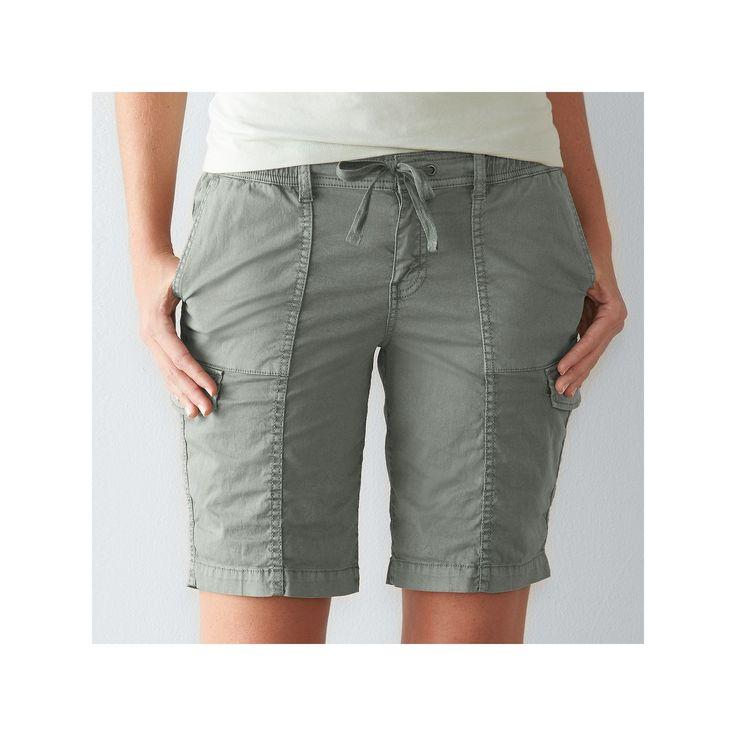 Best 25  Bermuda shorts women ideas on Pinterest | Womens long ...