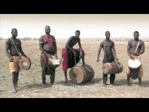 This is absolutly wonerful! Thomas Roebersfilm 'Foli'shows the rhythmic daily life of Baro, a Malinke village in Guinea; it is entralling.Almost eleven minutes long, it can be a lot to watch in a busy day. Break it up, watch bits over the course of a day. It will bring into focus the rhythm's of your life.  A man who we assume to be one of the tribe's leaders speaks occasionally throughout. His words form a kind of mantra, poem, prayer, with a rhythm of their own: (10:51)