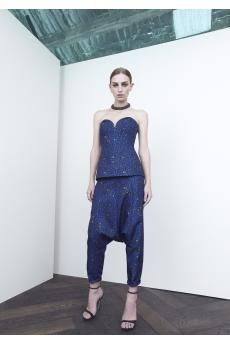 Stigmata Bustier and Portrait Trousers by CAMILLA AND MARC