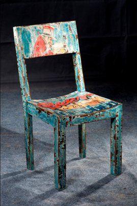 Silla Vintage Art 5207 45x45x90cm