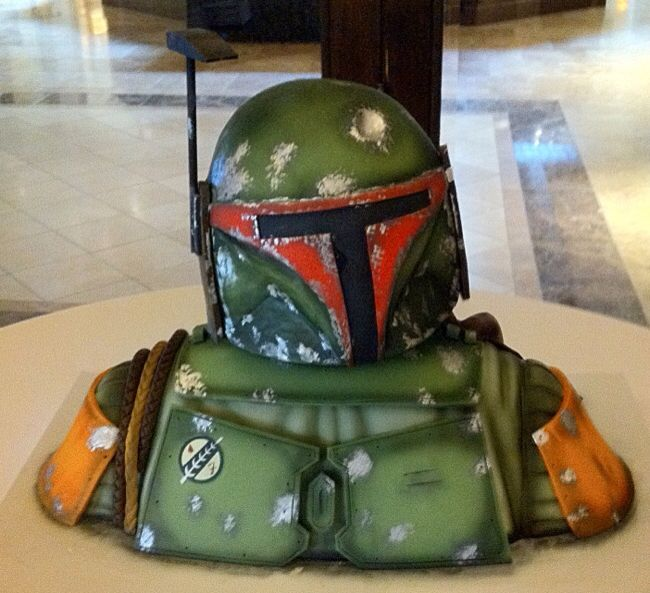 Boba Fett Cake - Fancy Cakes by Lauren