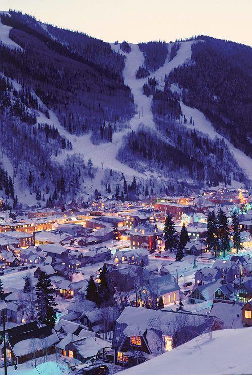 Night Lights of Telluride, Colorado