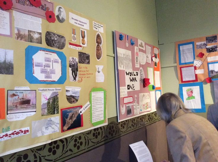 We were delighted to have great links with Ullapool Primary School for the Great War project. The whole of P7 joined in and their posters from research on local servicemen from the time were displayed in the museum