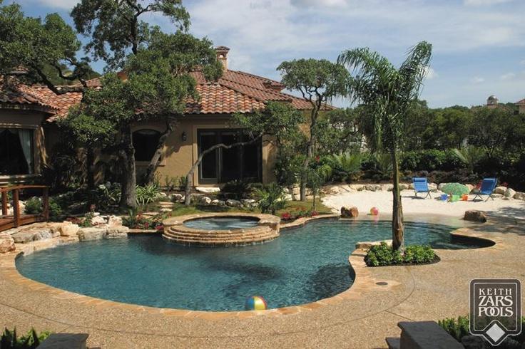 A Beach In Your Backyard San Antonio Custom Pools Keith Zars Pools San Antonio Custom