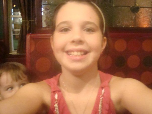 Even at 8 years old I was a professional at selfies.