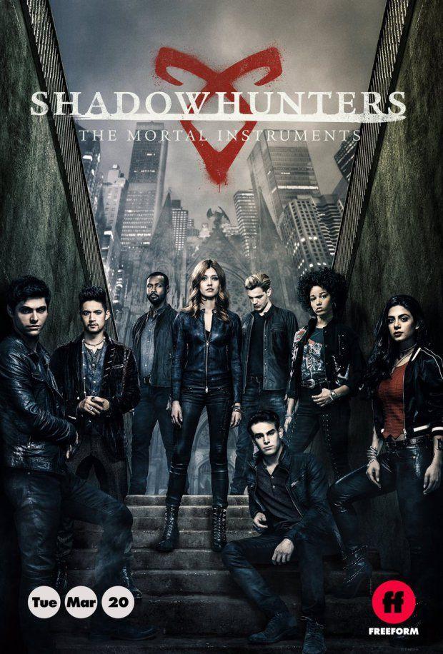 Резултат с изображение за shadowhunters season 3b poster