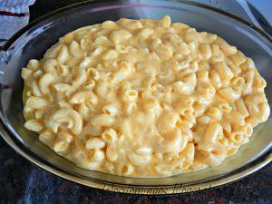 MAC AND CHEESE O MACARRONES CON QUESO   Cocina