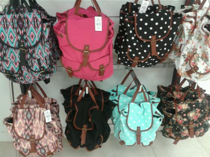 Window Shopper Wednesday! Check out these cute little backpacks! I spotted these at Stitches, and at only $15.00 I expect to see many people using them soon!