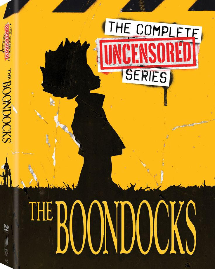 This politically incorrect release from the critically acclaimed animated series THE BOONDOCKS includes all 50 uncensored episodes of the show, following transplanted inner-city-dwellers Huey, Riley,