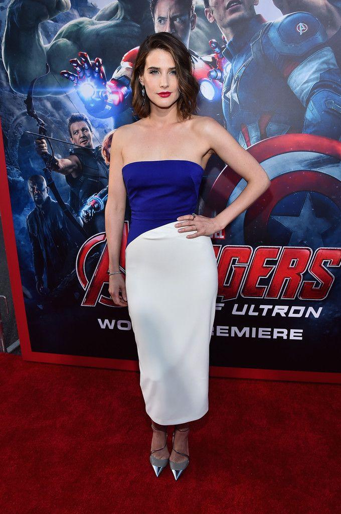 Cobie Smulders Photos - World Premiere of Marvel's 'Avengers: Age Of Ultron' - Red Carpet - Zimbio
