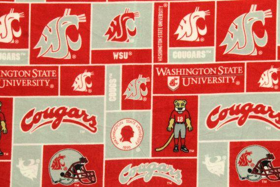 NCAA Washington State University Cougars Fleece by SOFIRETAIL, $11.95