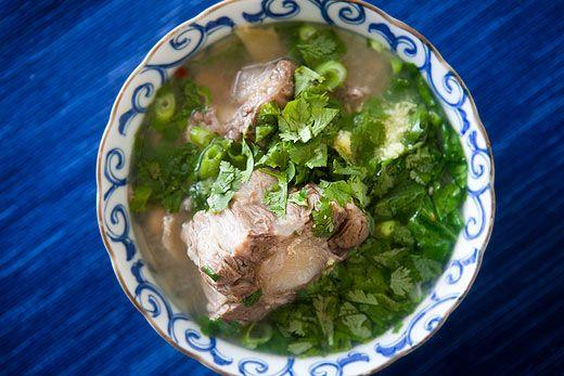 Hawaiian Oxtail Soup Recipe