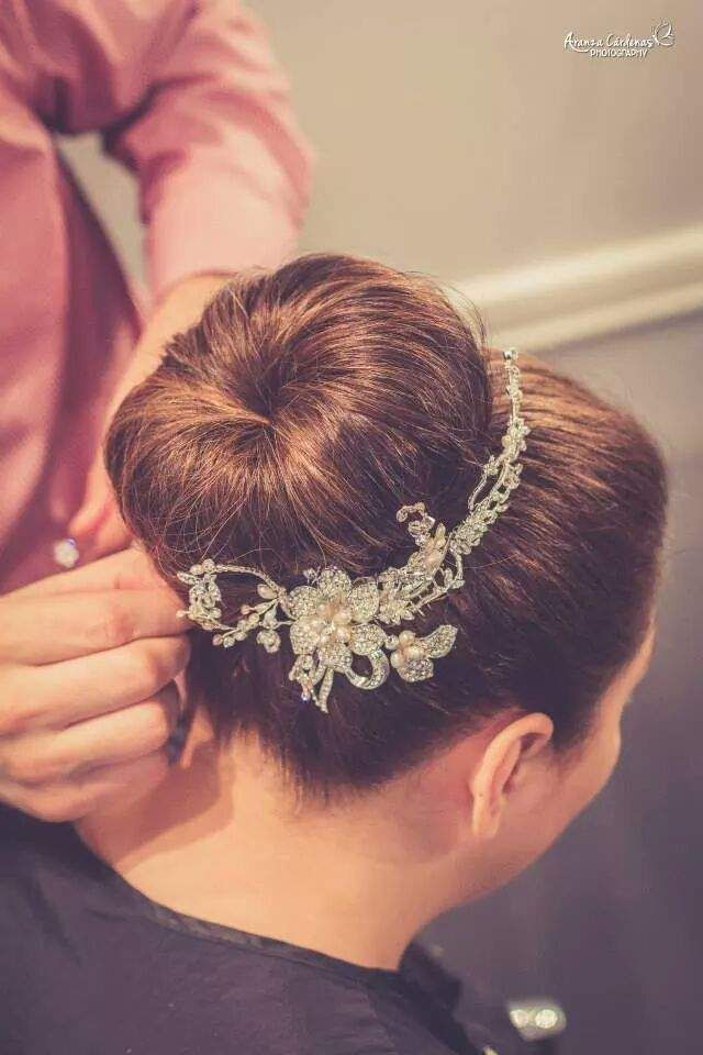 Bridal Hair Accessories For Buns : Best images about bridal hair do s by pedro abasolo on