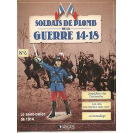 Soldats De Plomb De La Guerre 14-18 N° 6 : Le Saint-Cyrien De 1914