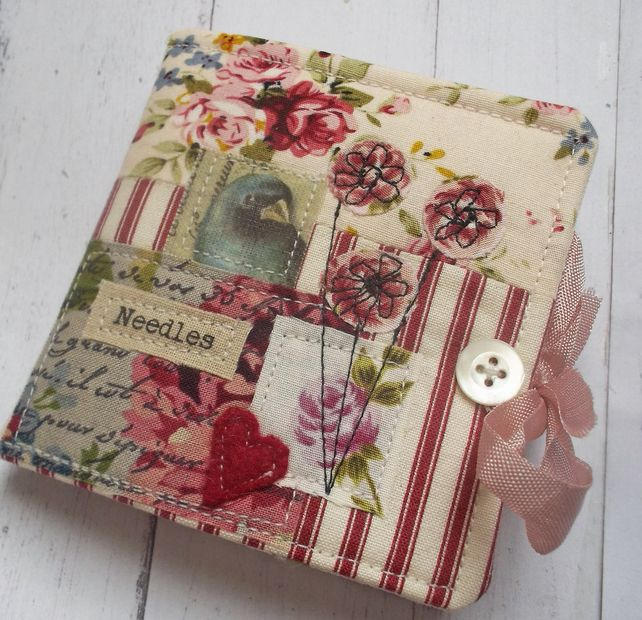 Handmade Sewing Needle Case in a Gift Box £16.00