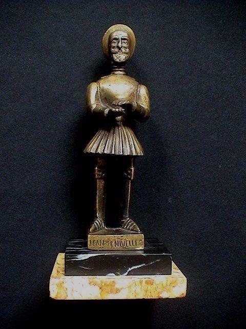 Zeldzame bronzen sculptuur/beeldje in de voorstelling van Jean de Nivelles - België/Nijvel - omstreeks 1900  EUR 50.00  Meer informatie