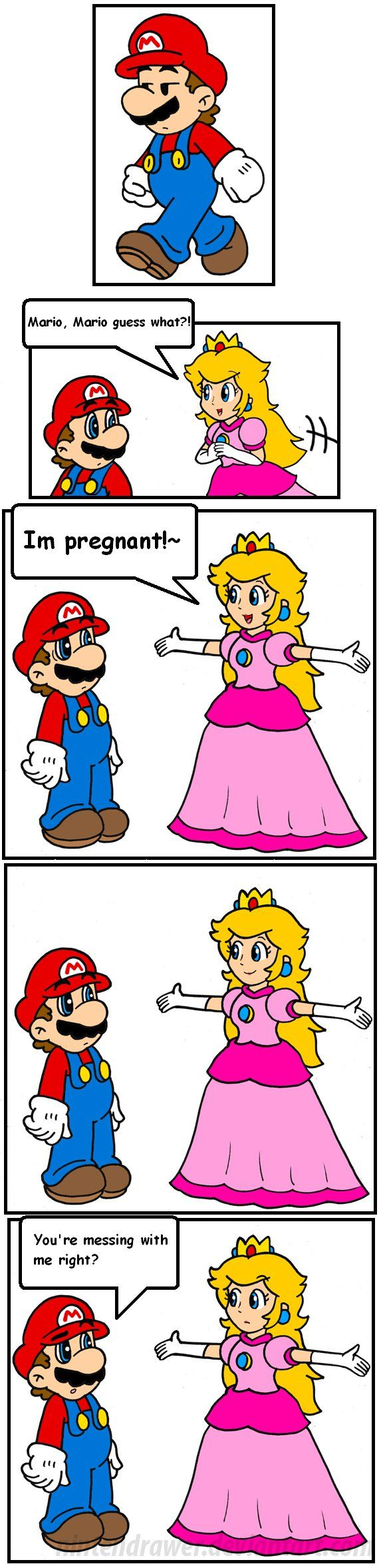 Pics photos funny princess peach pictures - Cake In The Oven By Nintendrawer On Deviantart