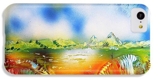 Printed with Fine Art spray painting image Rainbowland by Nandor Molnar (When you visit the Shop, change the orientation, background color and image size as you wish)