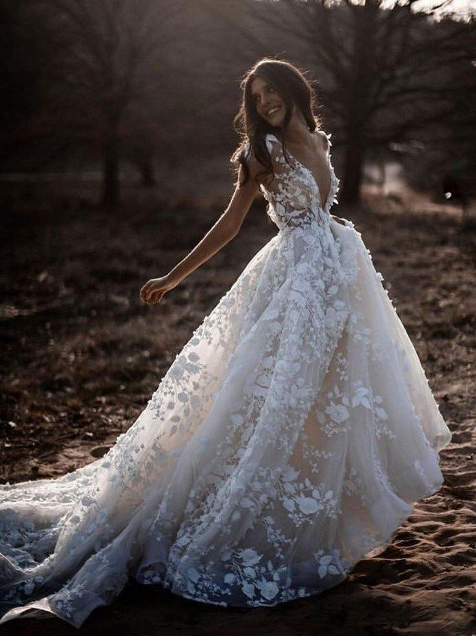 21 illusion long sleeve wedding dresses you'll like 35 – #Dresses #Illusion #lon…