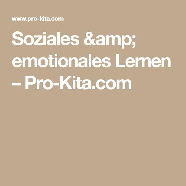 Soziales & emotionales Lernen – Pro-Kita.com
