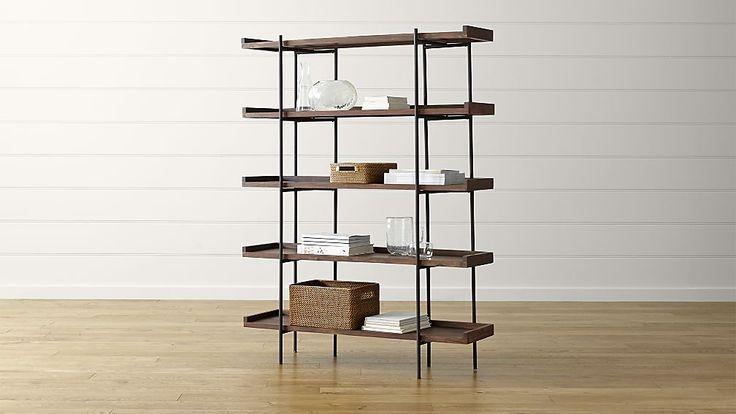 Beckett 5-High Shelf   Create & Barrel