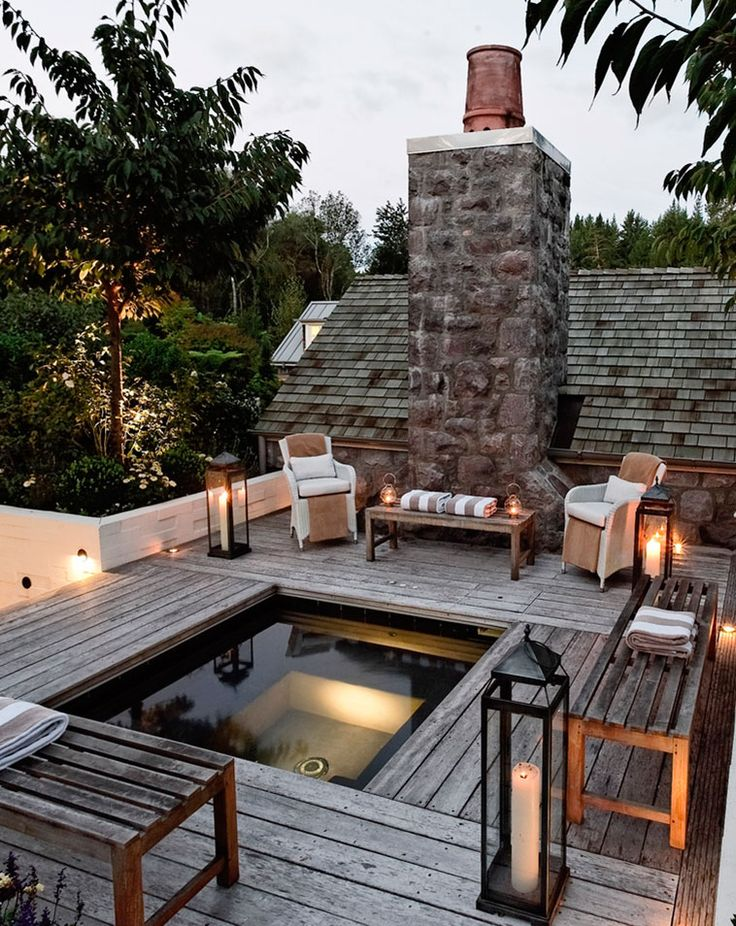 Outdoor terrazza Spaces idee : An exclusive New Zealand resort provides seclusion and respite in the ...