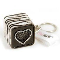 020586 - ChicBoom Zebra Keychain Speaker | Things Engraved ™ @ThingsEngraved