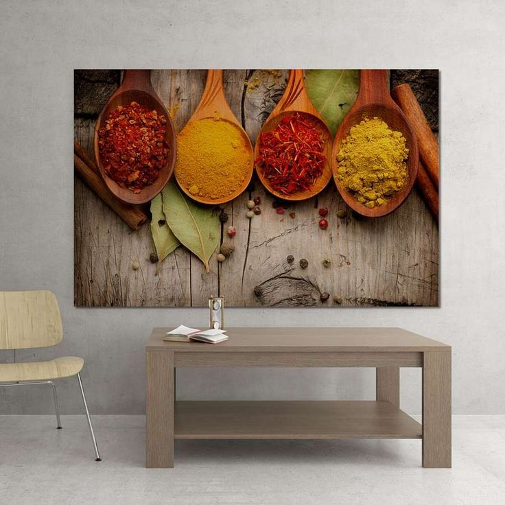 Multiple Dimensions Canvas - Spices Price: 17,00 €