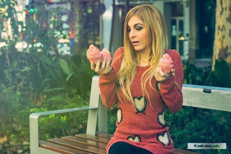 Suéter de corazones naif de Mon Petit Caprice