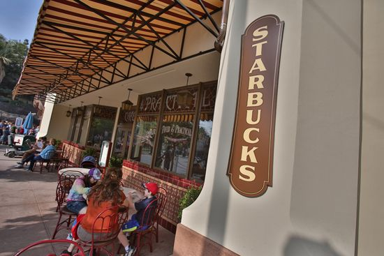Starbucks Locations coming to Magic Kingdom Park & Epcot Next Year.  Starbucks will replace the Main Street Bakery. (Disney World)