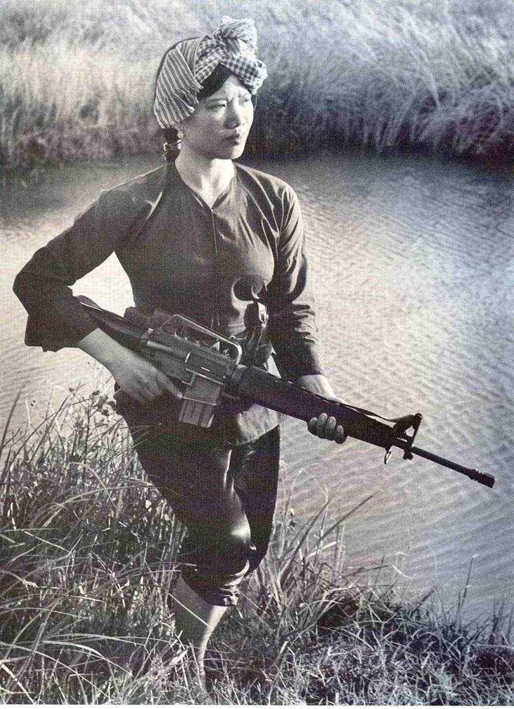 A Fierce Viet Cong Fighter
