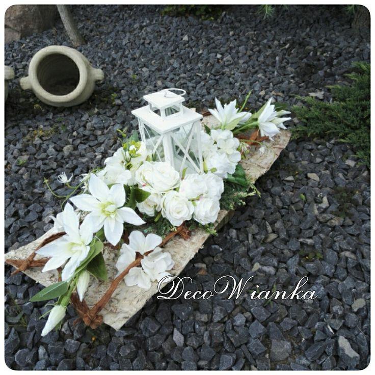 Kompozycja nagrobna,kompozycja na grób-pomnik