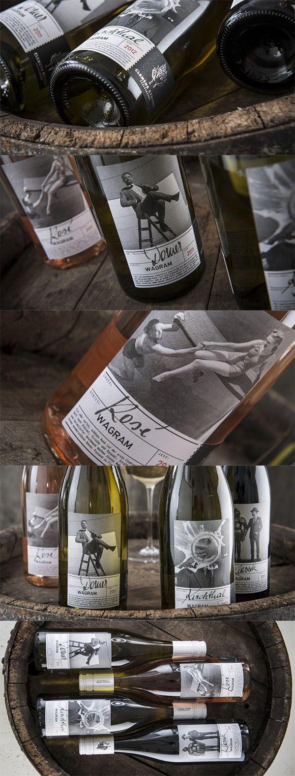 WEINMANUFAKTUR CLEMENS STROBL // Packaging Design Klassiklinie:  By www.strobl-kriegner.com #packaging #design #bottle