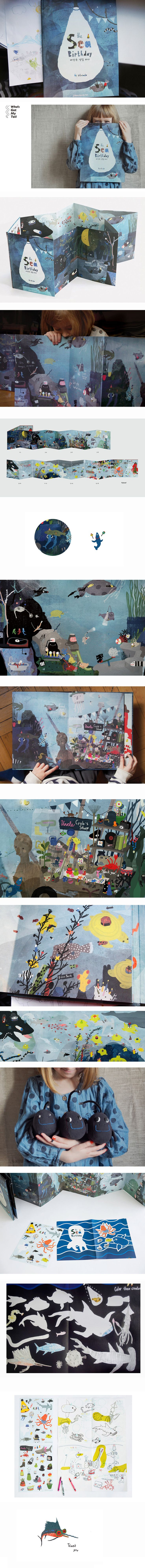 The Sea Birthday, Journals/Books © Илья и МаргаритаДонец