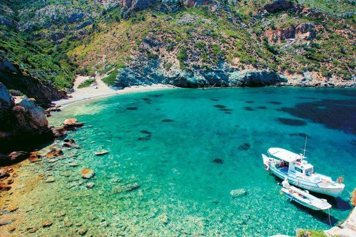 Alonissos island,Kyra Panagia