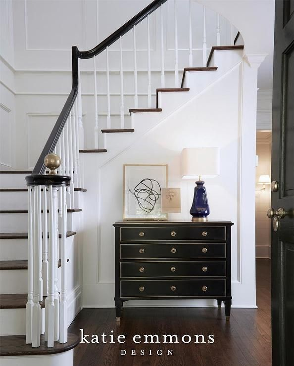 Amazing Foyer Love The Dark And White Wood Together: Best 25+ Black Banister Ideas On Pinterest
