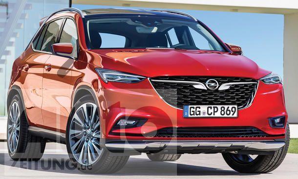 Opel Suv Kein Omega Nachfolger Update Autozeitung De Opel Mokka Opel Corsa Opel Astra K