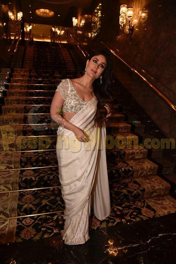 Gorgeous Kareena K Khan In Screen For An Event Bollywood Celebrities Bollywood Actress Kareena Kapoor Saree