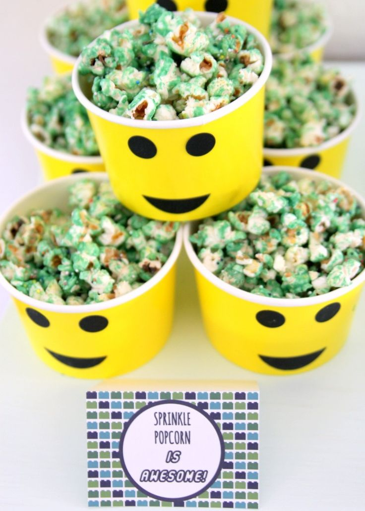 Tasty Lego Foods & Recipes For Your Awesome Lego Birthday Party -Beau-coup Blog