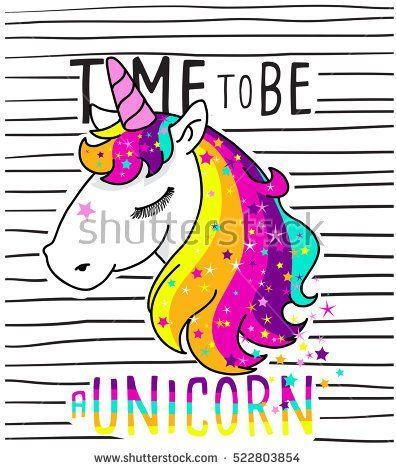 cute magical unicorn,sweet kids graphics for t-shirts