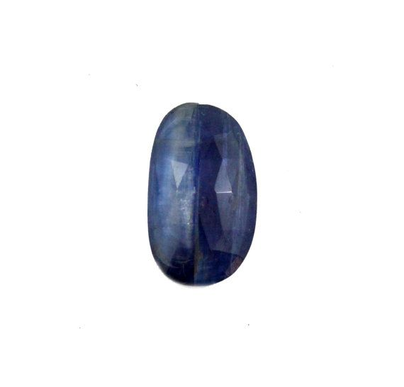 Blue Kyanite fancy rose cut 7.11 carat by SARAHHUGHESfinegems