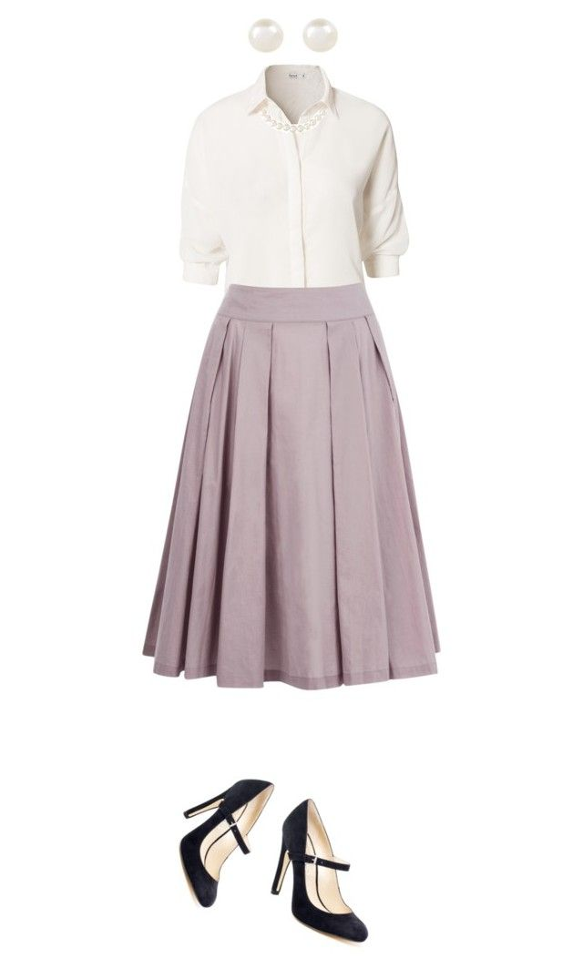 """""""Just an average 50s outfit"""" by f3arl3ssprinc3ss ❤ liked on Polyvore"""